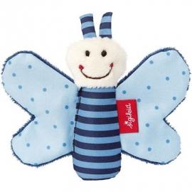 sigikid - Red Stars - Rassel Schmetterling blau