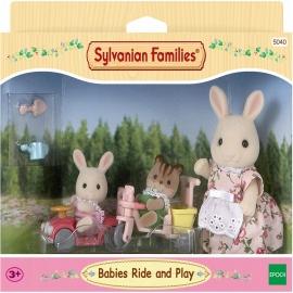 Sylvanian Families - Babies Fahr und Spiel-Set