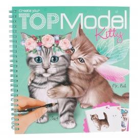 Depesche - Create your TOPModel Kitty Malbuch