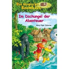 Loewe Das magische Baumhaus Sammelband: mit CD Im Dschungel der Abenteuer Bd.23-