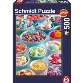 Schmidt Spiele - Süße Leckereien, 500 Teile