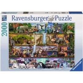 Ravensburger Puzzle - Aimee Stewart: Großartige Tierwelt, 1500 Teile