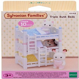 Sylvanian Families - Dreistöckiges Babyhochbett