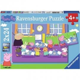 Ravensburger Spiel - Peppa in der Schule, 24 Teile