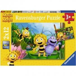 Ravensburger Spiel - Ausflug mit Biene Maja, 16 Teile