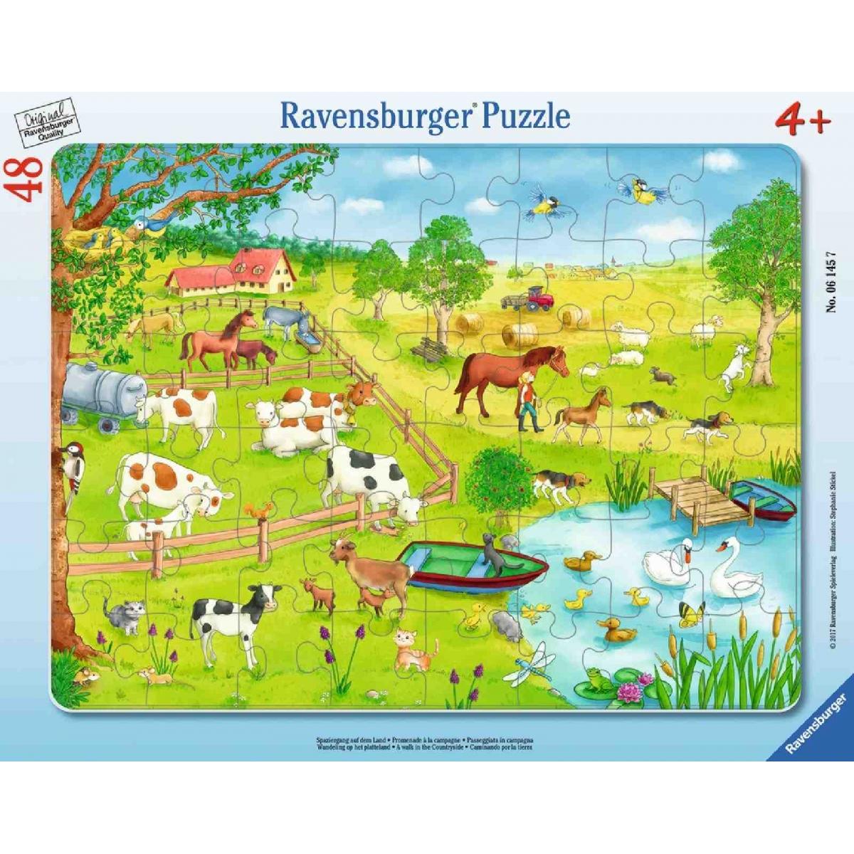 MUKK® Spielwaren Münster - Ravensburger Puzzle - Rahmenpuzzle ...