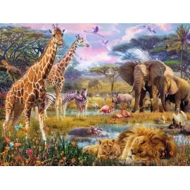 Ravensburger Puzzle - Buntes Afrika, 1500 Teile