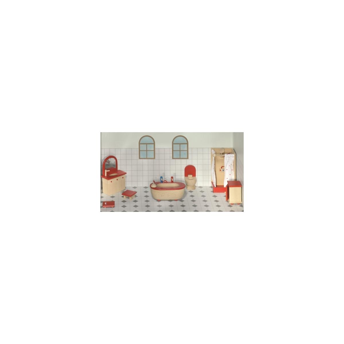 Goki Puppenhausmöbel Badezimmer | Mukk Spielwaren Munster Goki Puppenmobel Badezimmer Gollnest