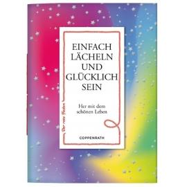 Coppenrath Verlag -Der rote Faden N0. 123 - Einfach lächeln und glücklich sein