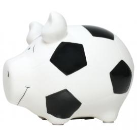 Sparschwein   Fußballschwein   - Kleinschwein von KCG - Höhe ca. 9 cm