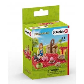 Schleich - World of Nature - Farm Life - Geburtstagspicknick