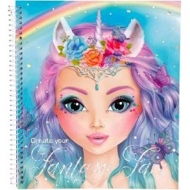 Depesche - Create your Fantasy Face - Malbuch