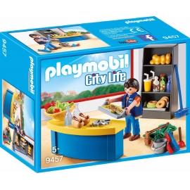 PLAYMOBIL 9457 - City Life - Hausmeister mit Kiosk