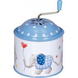 Die Spiegelburg - Baby Glück - Spieluhrdose, blau