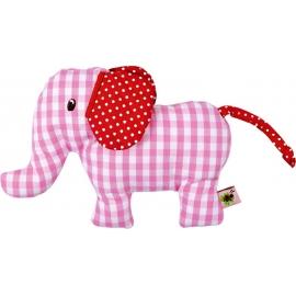 Die Spiegelburg - Baby Glück - Rassel Elefant, rosa