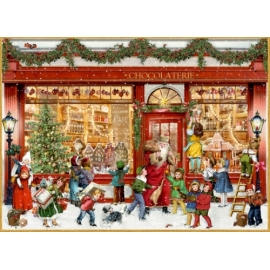 Chocolaterie, A4 Wand-Adventskalender (Behr)