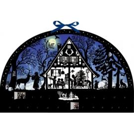 Lichterbogen Weihnachtswald, Wand-Adventskalender (Behr)