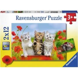 Ravensburger Spiel - Katzen auf Entdeckungsreise, 12 Teile