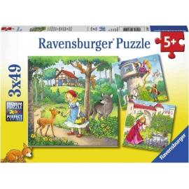 Ravensburger Spiel - Märchen, 3x49 Teile