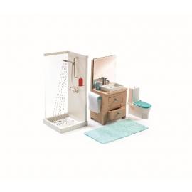Djeco - Puppenhaus - The bathroom
