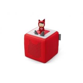 Tonies® - Starterset - Toniebox Rot mit Kreativ-Tonie - Der Einstieg in das neue Hör- und Spielerleb