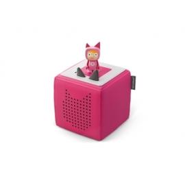Tonies® - Starterset - Toniebox Pink mit Kreativ-Tonie - Der Einstieg in das neue Hör- und Spielerle