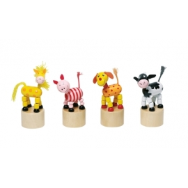 GoKi Wackelfiguren Tiere