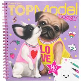 Depesche - Create your TOPModel Doggy Malbuch