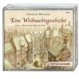 Oetinger - Eine Weihnachtsgeschichte (NA) 3 CD Ungekürzte Lesung, ca. 210 min.