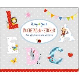 Coppenrath Verlag - Baby Glück - Stickerbuch - Buchstaben-Sticker