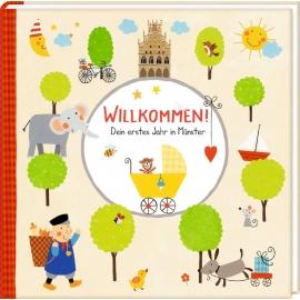Coppenrath Verlag - Babyalbum - Willkommen! - Dein erstes Jahr in Münster