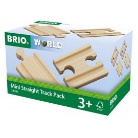 BRIO 1/4 Ausgleichsschienen Mix