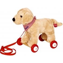 Die Spiegelburg - Lustige Tierparade - Labrador Luzie auf Holzrollen