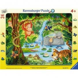 Ravensburger Puzzle - Dschungelbewohner, 24 Teile