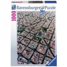Ravensburger Puzzle - Barcelona von Oben, 1000 Teile