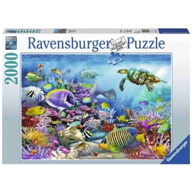 Ravensburger Puzzle - Lebendige Unterwasserwelt, 2000 Teile