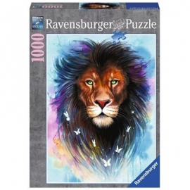 Ravensburger Puzzle - Majestätischer Löwe, 1000 Teile