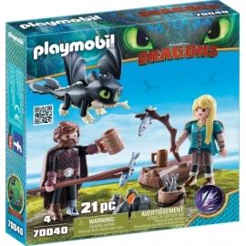 Playmobil 70040 Hicks und Astrid Spielset