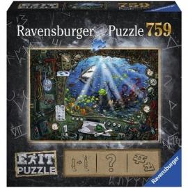 Ravensburger Puzzle - EXIT Im U-Boot, 759 Teile