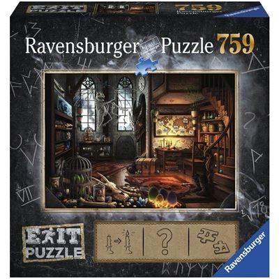 Ravensburger Puzzle - EXIT Im Drachenlabor, 759 Teile
