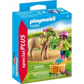 PLAYMOBIL 70060 - Special Plus - Mädchen mit Pony