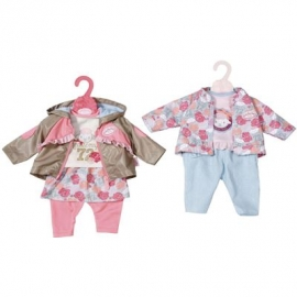Zapf Creation - Baby Annabell Travel Jeans, 43cm 2 sort.