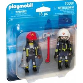 Playmobil 70081 DuoPack Feuerwehrmann und - frau