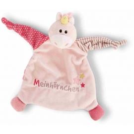 NICI - My First NICI - Schmusetuch Einhorn Stupsi Meinhörnchen