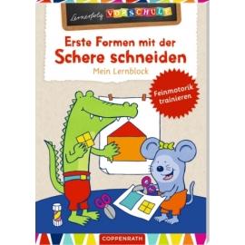 Lernerfolg Vorschule: Erste Formen m.d. Schere.. - Lernblock
