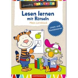 Lernerfolg Vorschule: Lesen lernen mit Rätseln - Lernblock