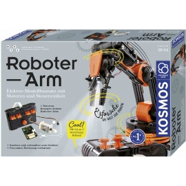 KOSMOS - Roboter-Arm - Modellbausatz für deinen elektrischen Roboterarm
