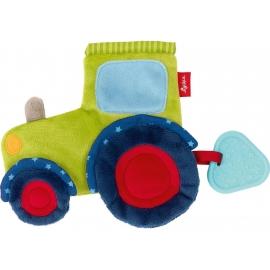 sigikid - Baby Activity - Aktiv-Knistertuch Traktor