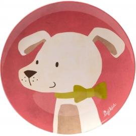 sigikid - Melamin Teller Hund