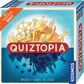KOSMOS - Quiztopia - Gemeinsam gegen das Spiel - das kooperative Quiz